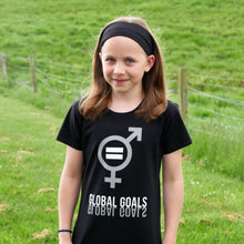 Global Goals 'Gender Equality' Greyscale T-Shirt for Teens/Adults - Scarf Monkey