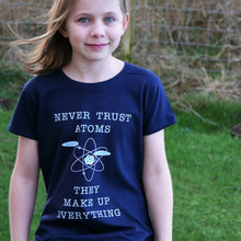 Never Trust Atoms T-Shirt - Scarf Monkey