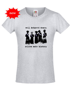 Suffragettes T-Shirt for Teens/Adults - Scarf Monkey