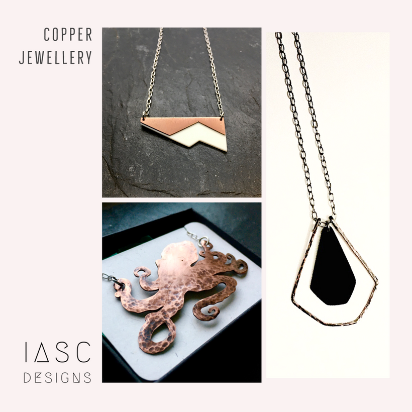 Copper jewellery
