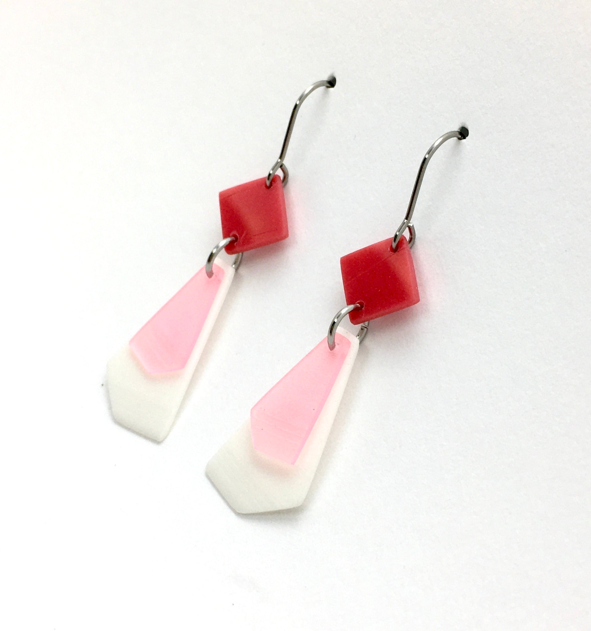 Small 3-colour earrings