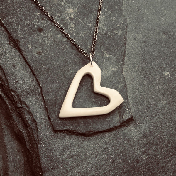 Square Heart pendant
