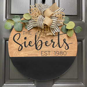SIEBERT DOOR HANGER