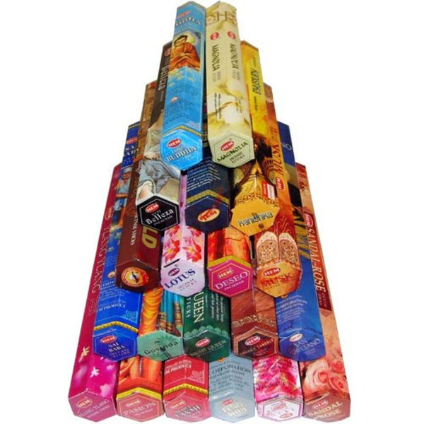 Hem Incense Sticks Various Fragrances 20 Packs Total 400 Sticks