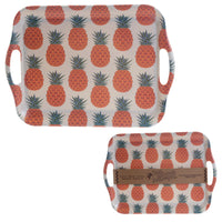 Bambootique Eco Friendly Pineapple Design Tray