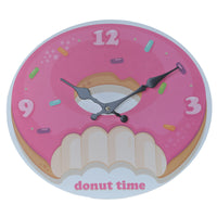 Fun Fast Food Donut Wall Clock