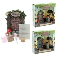 Cute Collectable Fairy - Wishes Jar Woodland Fairy Door