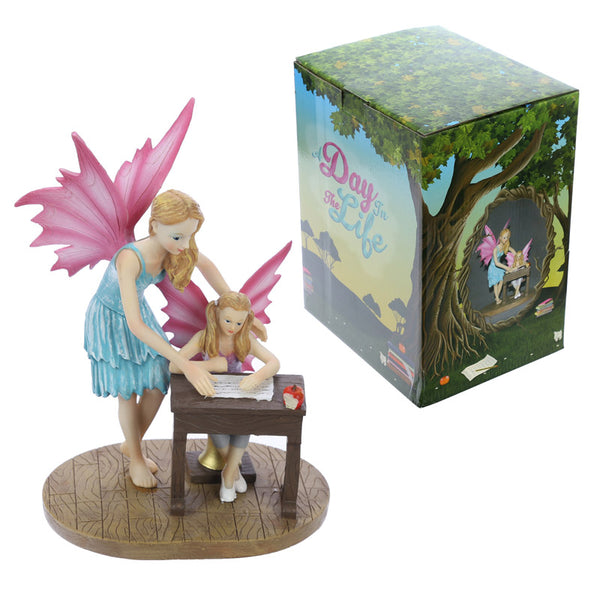 Decorative School Time Collectable Fairy Figurine