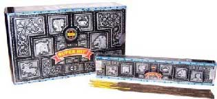 Satya Super Hit Nag Champa Incense Sticks 15gms - 12 Packs
