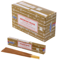 Satya Nag Champa Incense Sticks - Arabian Musk