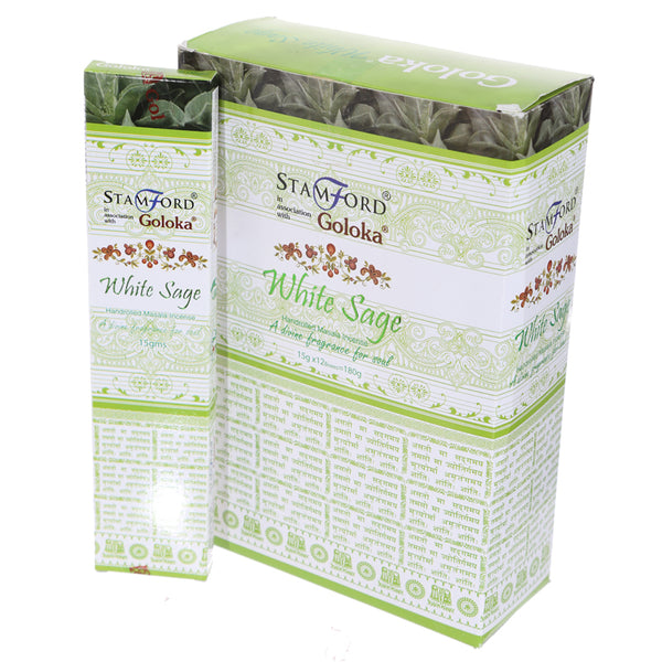 Stamford Masala Incense Sticks - White Sage