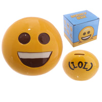 Collectable Big Smile Emotive Money Box