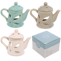 Teapot Design Ceramic Oil Burner