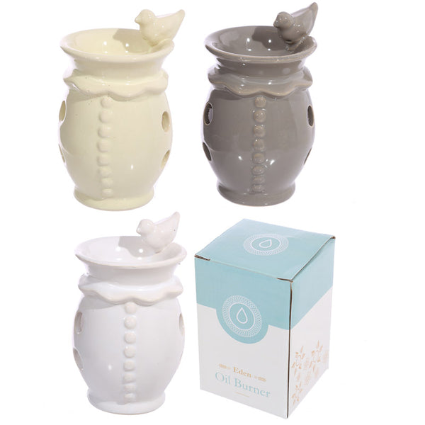 Bird Bath Design Ceramic Oil Burner