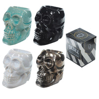 Novelty Skull Ceramic Oil Burner