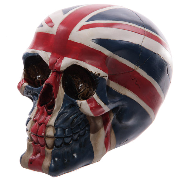 Novelty Union Flag Skull Ornament