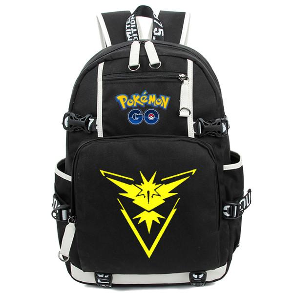 Backpack - Pokémon GO Backpack ポケモン Team Instinct