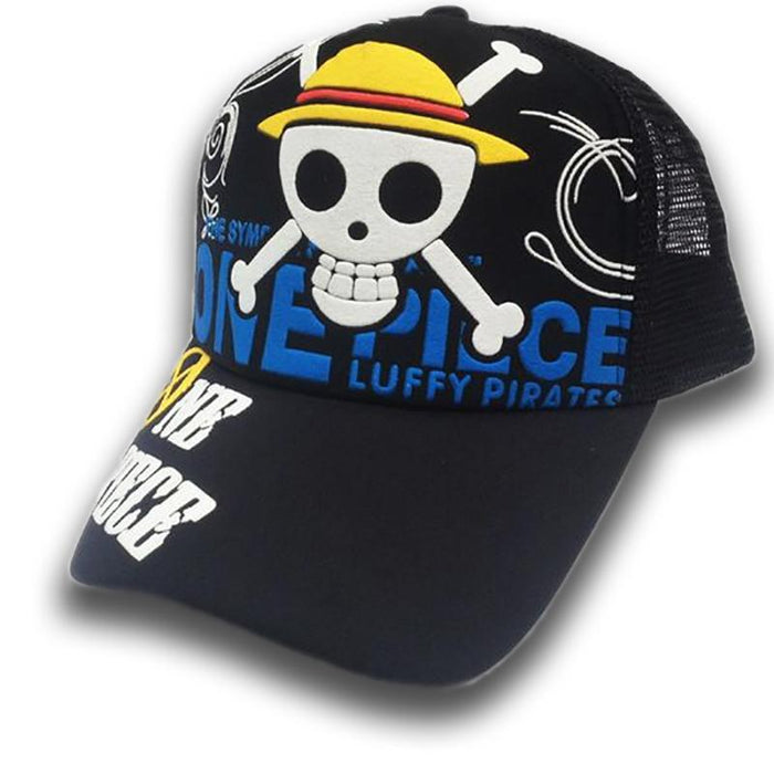 One Piece Hat Straw Hats Symbol Animerchandise U30a2