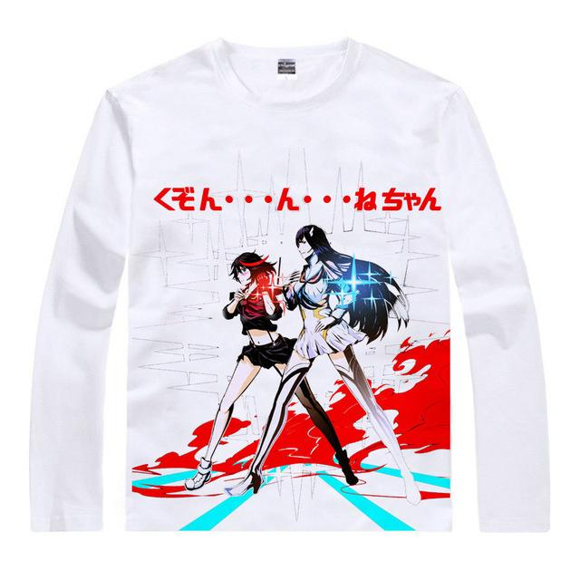 Long Sleeve Shirt - Kill La Kill Long Sleeve Shirt キルラキル Ryuko & Satsuki