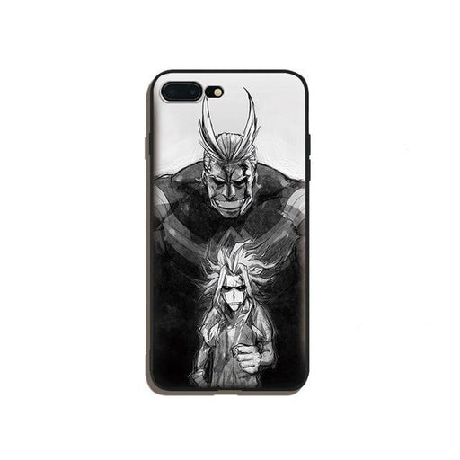 Phone Case - Black And White All Might My Hero Academia IPhone Case 僕のヒーローアカデミア Apple IPhones