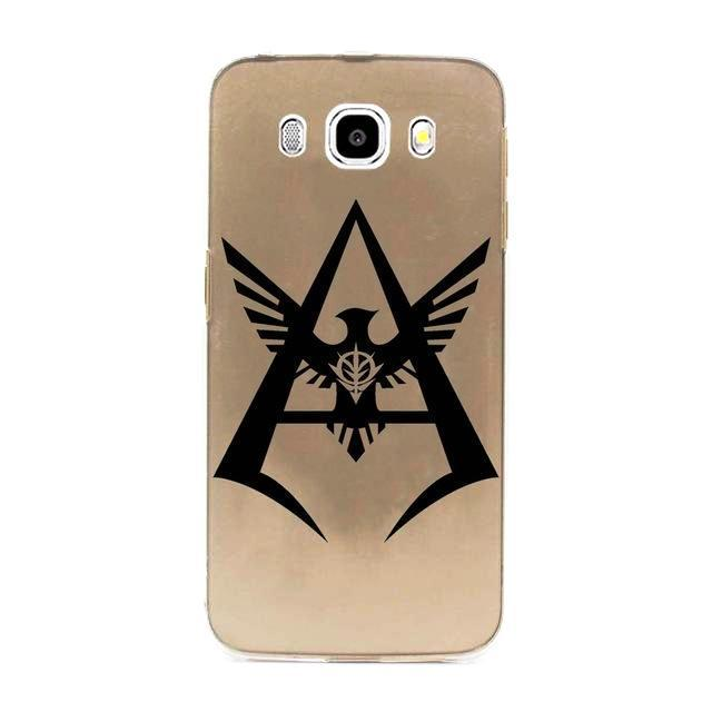 char aznable logo gundam phone case ガンダム samsung galaxy j series