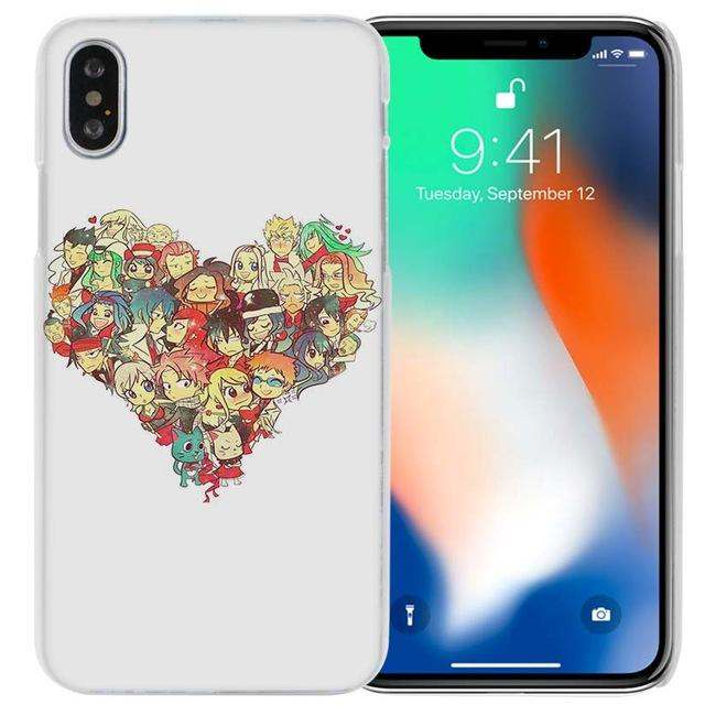 Phone Case - Heart Collage Fairy Tail IPhone Case フェアリーテイル Apple IPhones