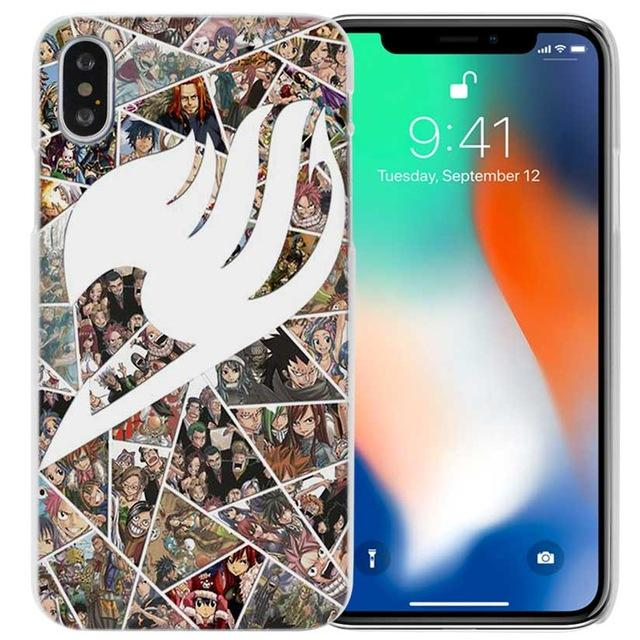 Phone Case - Shatter Logo Fairy Tail IPhone Case フェアリーテイル Apple IPhones