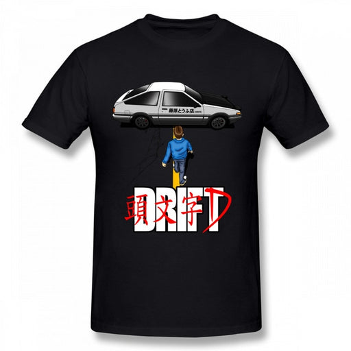 "Akira Shirt | ""Drift"" Design White/Black options"