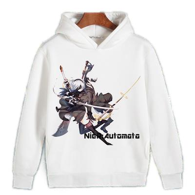 Pullover Hoodie - NieR Automata Hoodie ニーア オートマタ 2B Attack Mode