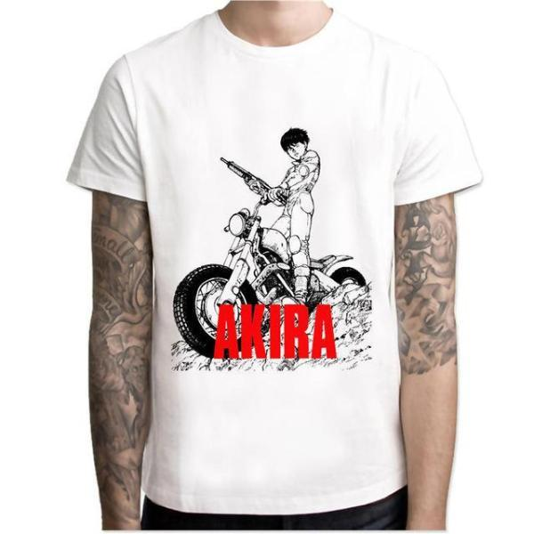 T-Shirt - Akira Shirt アキラ Kaneda On Dirt Bike