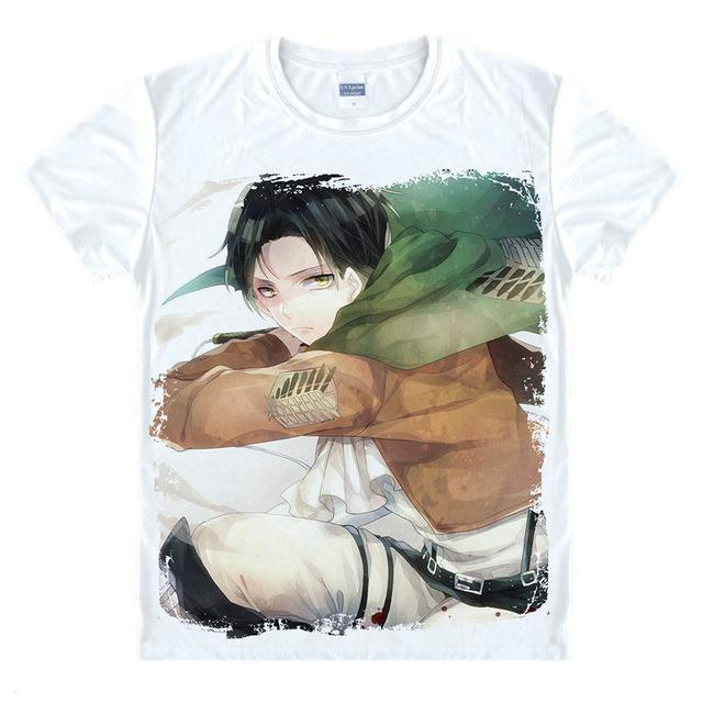 T-Shirt - Attack On Titan Shirt 進撃の巨人 Eren Painting