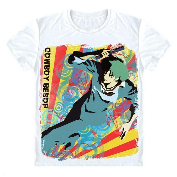 T-Shirt - Cowboy Bebop Shirt カウボーイビバップ Spike Spiegel Pop Art