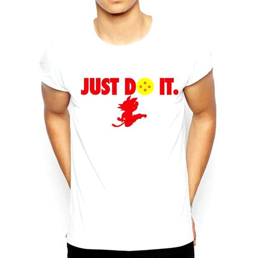 T-Shirt - Dragon Ball Z ドラゴンボールゼット Featuring Just Do It