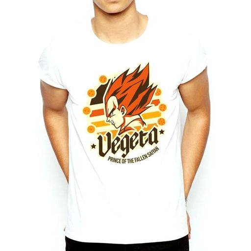T-Shirt - Dragon Ball Z Shirt ドラゴンボールゼット Prince Of The Fallen Saiyan