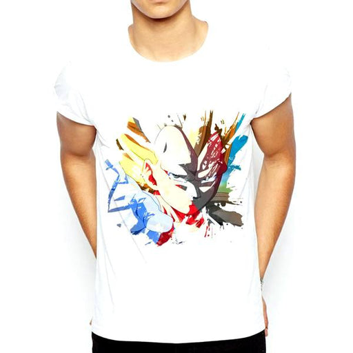 T-Shirt - Dragon Ball Z Shirt ドラゴンボールゼット Super Saiyan Vegeta Pop Art