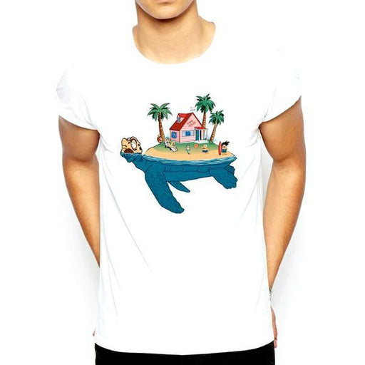 T-Shirt - Dragon Ball Z Shirt ドラゴンボールゼット Turtle Island