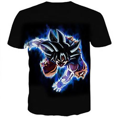 T-Shirt - Dragon Ball Z Shirt Featuring Flying Punch Goku 悟空