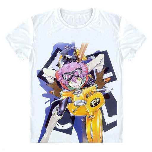 T-Shirt - FLCL Fooly Cooly Shirt フリクリ Haruko On Scooter
