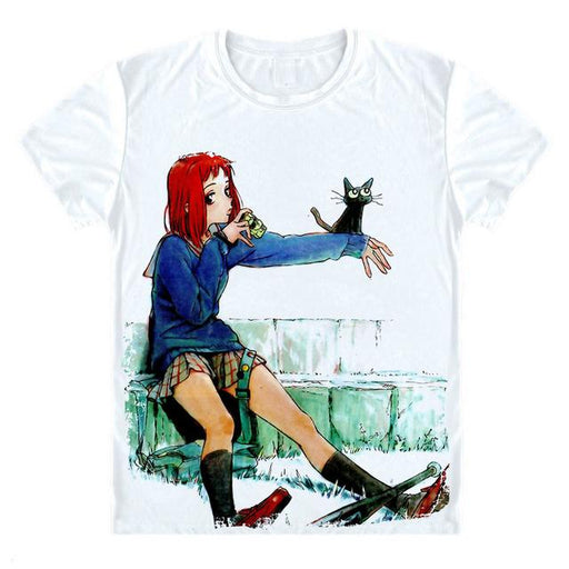 T-Shirt - FLCL Fooly Cooly Shirt フリクリ Mamimi With Takkun