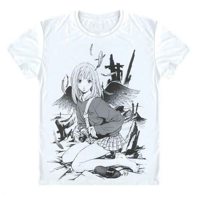 T-Shirt - FLCL Fooly Cooly Shirt フリクリ Mamimi With Wings
