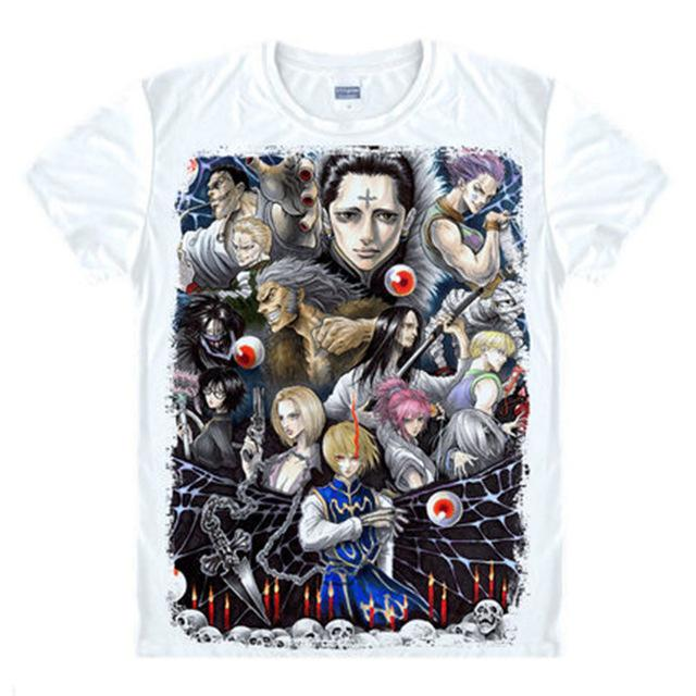 T-Shirt - Hunter X Hunter Shirt ハンター×ハンター Phantom Troupe Collage