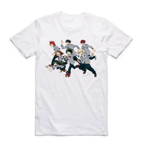 T-Shirt - My Hero Academia Shirt 僕のヒーローアカデミア Sprinting Students