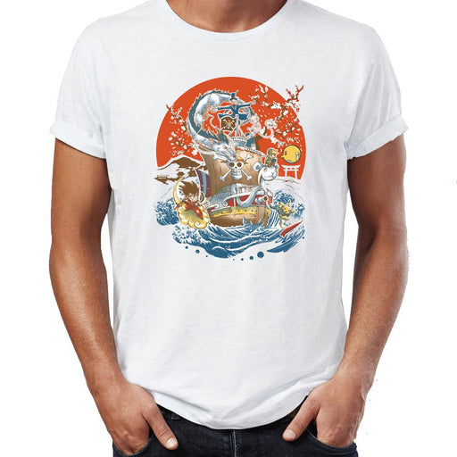T-Shirt - One Piece Shirt ワンピース Crossover