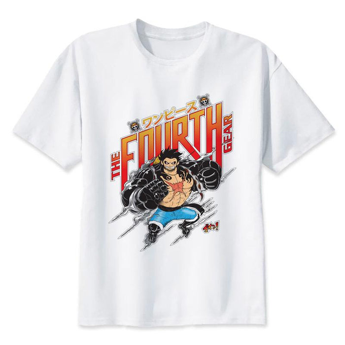 T-Shirt - One Piece Shirt ワンピース Fourth Gear