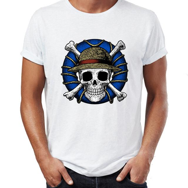 One Piece Shirt Realistic Straw Hat Pirates Symbol