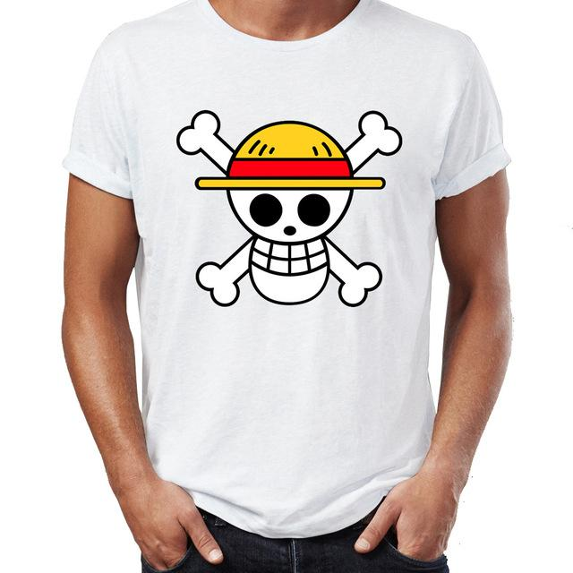 One Piece Shirt Straw Hat Pirates Symbol Animerchandise