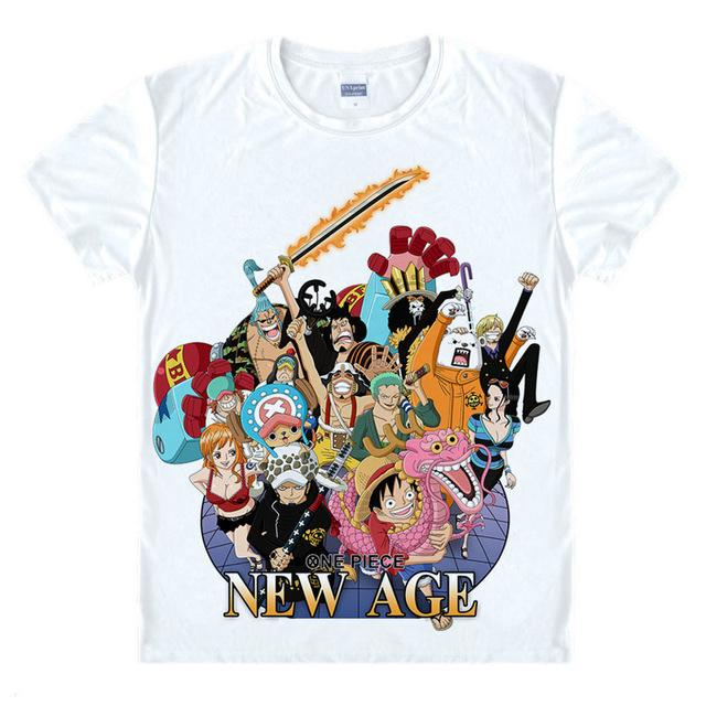 T-Shirt - One Piece Shirts ワンピース Pirates Of The New Age