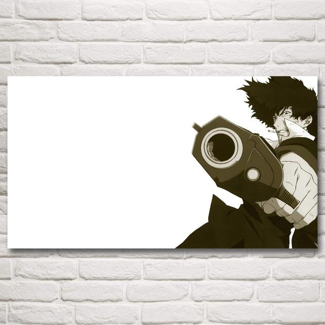 Wall Art - Cowboy Bebop Poster Canvas カウボーイビバップ