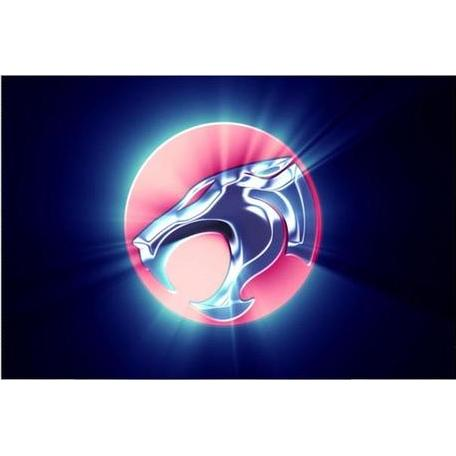 Wall Art - ThunderCats Poster Featuring Cat's Head Logo