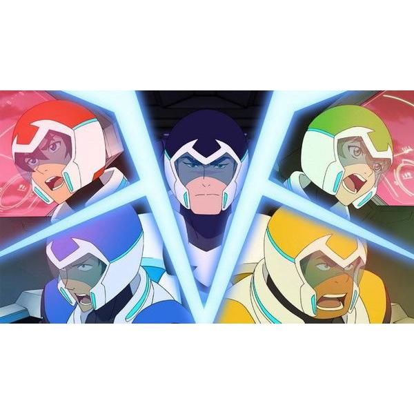 Wall Art - Voltron Poster Featuring Paladins Forming Voltron